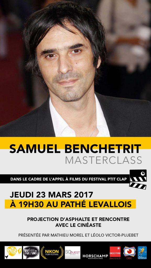 Masterclass Samuel Benchetrit