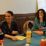 Elisa Tovati et Géraldine Desindes