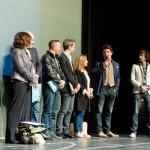 Le jury sur scène
