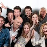 Robin Bauzou et son équipe