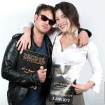 Jeremy Minui et Norah Lehembre